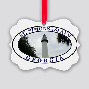 Saint Simons Island Ornament